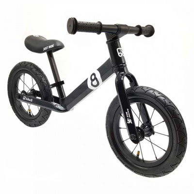Беговел Bike8 RACING AIR черный